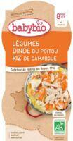 Babybio Bol Légumes Dinde Riz à ANDERNOS-LES-BAINS