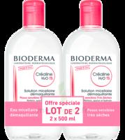 Crealine Ts H2o Solution Micellaire Sans Parfum Nettoyante Apaisante 2fl/500ml à ANDERNOS-LES-BAINS