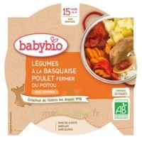 BABYBIO Assiette Légumes Basquaise Poulet Paprika à ANDERNOS-LES-BAINS