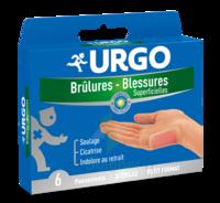 URGO BRULURES-BLESSURES PETIT FORMAT x 6 à ANDERNOS-LES-BAINS