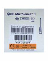 BD MICROLANCE 3, G25 5/8, 0,5 mm x 16 mm, orange  à ANDERNOS-LES-BAINS