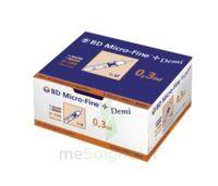 BD MICRO - FINE +, 0,30 mm x 8 mm, bt 100 à ANDERNOS-LES-BAINS