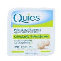 QUIES PROTECTION AUDITIVE CIRE NATURELLE 8 PAIRES à ANDERNOS-LES-BAINS