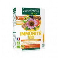 Santarome Bio Immunité Solution buvable 20 Ampoules/10ml à ANDERNOS-LES-BAINS