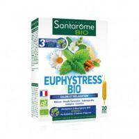Euphystress Solution buvable bio 20 Ampoules/10ml à ANDERNOS-LES-BAINS