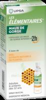 LES ELEMENTAIRES Solution buccale maux de gorge adulte 30ml à ANDERNOS-LES-BAINS