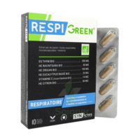 Synactifs Respigreen Bio Gélules B/10 à ANDERNOS-LES-BAINS