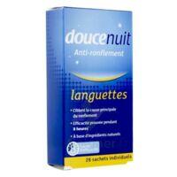 Doucenuit Antironflement Languettes, Sachet 28 à ANDERNOS-LES-BAINS