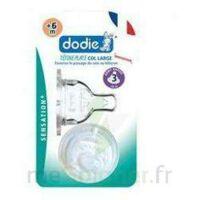 Dodie Sensation+ Tétine Plate Débit 2 Silicone 0-6mois à ANDERNOS-LES-BAINS