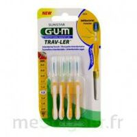 Gum Trav - Ler, 1,3 Mm, Manche Jaune , Blister 4 à ANDERNOS-LES-BAINS