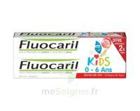 Fluocaril Kids Gel dentifrice Fraise 0/6ans 2*50ml à ANDERNOS-LES-BAINS
