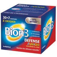 Bion 3 Défense Junior Comprimés à croquer framboise B/30+7 à ANDERNOS-LES-BAINS