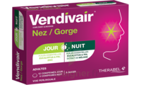 Vendivair Nez/Gorge Comprimés jour et nuit B/12+4 à ANDERNOS-LES-BAINS