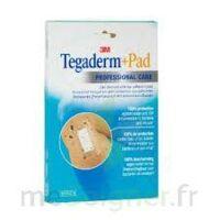 Tegaderm + Pad, 5 Cm X 7 Cm , Bt 10 à ANDERNOS-LES-BAINS
