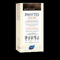 Phytocolor Kit coloration permanente 6.77 Marron clair cappuccino à ANDERNOS-LES-BAINS