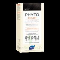 Phytocolor Kit coloration permanente 3 Châtain foncé à ANDERNOS-LES-BAINS