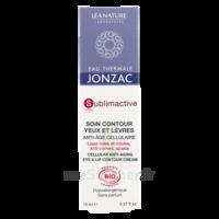 Jonzac Eau Thermale Sublimactive Crème soin contour yeux lèvres jeunesse immédiate 15ml à ANDERNOS-LES-BAINS