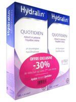 Hydralin Quotidien Gel lavant usage intime 2*200ml à ANDERNOS-LES-BAINS