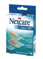 Nexcare Aqua 360° Pansements 3 tailles B/14 à ANDERNOS-LES-BAINS
