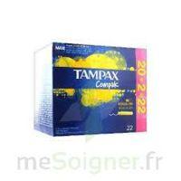 Tampax Compak - Tampon Régulier à ANDERNOS-LES-BAINS