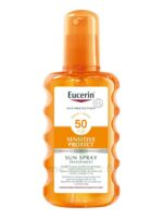Eucerin Sun Sensitive Protect SPF50 Spray transparent corps 200ml à ANDERNOS-LES-BAINS