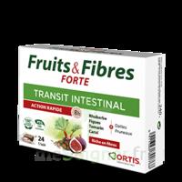 Ortis Fruits & Fibres Forte Cube à mâcher B/12 à ANDERNOS-LES-BAINS