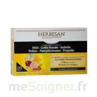 Herbesan Système Immunitaire 20 Ampoules à ANDERNOS-LES-BAINS