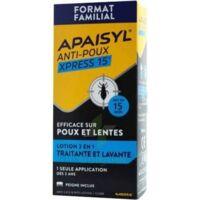 Apaisyl Anti-poux Xpress Lotion antipoux et lente 300ml à ANDERNOS-LES-BAINS