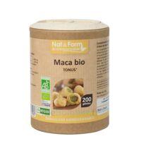 Nat&form Eco Responsable Maca Bio Gélules B/200 à ANDERNOS-LES-BAINS
