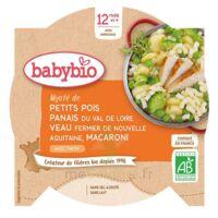 BABYBIO Assiette Petits pois Panais Veau Macaroni à ANDERNOS-LES-BAINS