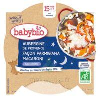 BABYBIO Assiette Bonne Nuit Aubergine Macaroni Origan à ANDERNOS-LES-BAINS