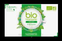 Nutrisanté Infusions Bio Thé Vert Menthe 20 Sachets à ANDERNOS-LES-BAINS