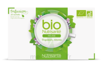 Nutrisanté Infusions Bio Tisane Mélisse 20 Sachets à ANDERNOS-LES-BAINS