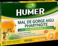 Humer Pharyngite Pastille Mal De Gorge Miel Citron B/20 à ANDERNOS-LES-BAINS